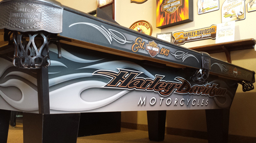 Harley Davidson Pool Tables