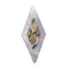 Diamond - MOP with Abalone Inlay
