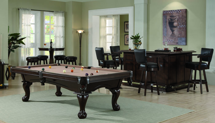 Pool Tables By Size