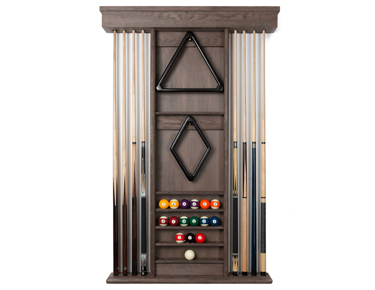 Carmel Wooden Wall Rack Diamondback Billiards Shopping Cart