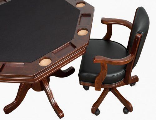 Octagonal 2 In 1 Poker Table ...