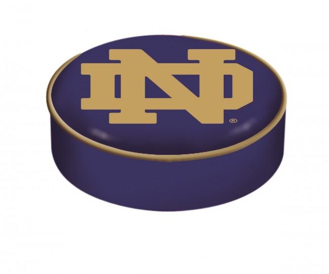 University Of Notre Dame Nd Block Logo Bar Stool Seat